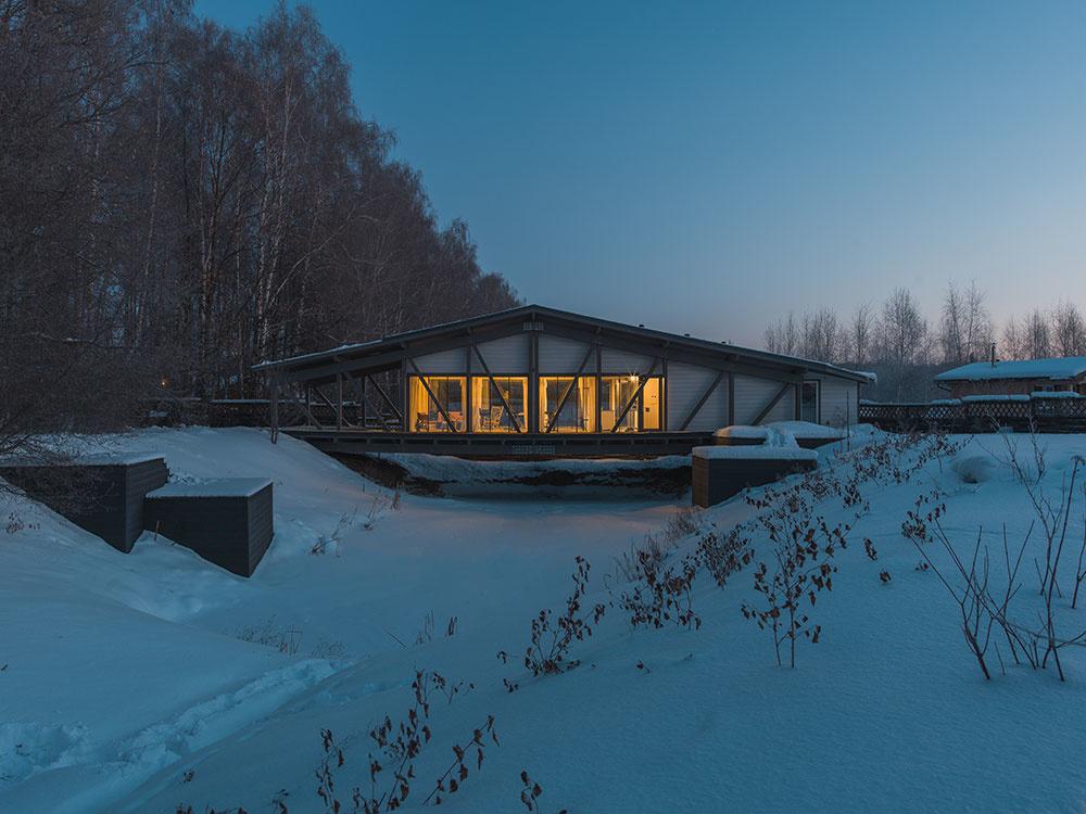 Dom, ktorý spája dva brehy