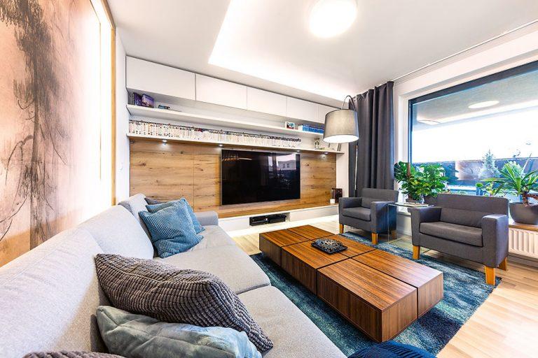 Petržalský byt v pánskom štýle ako stvorený pre pohodlné bývanie