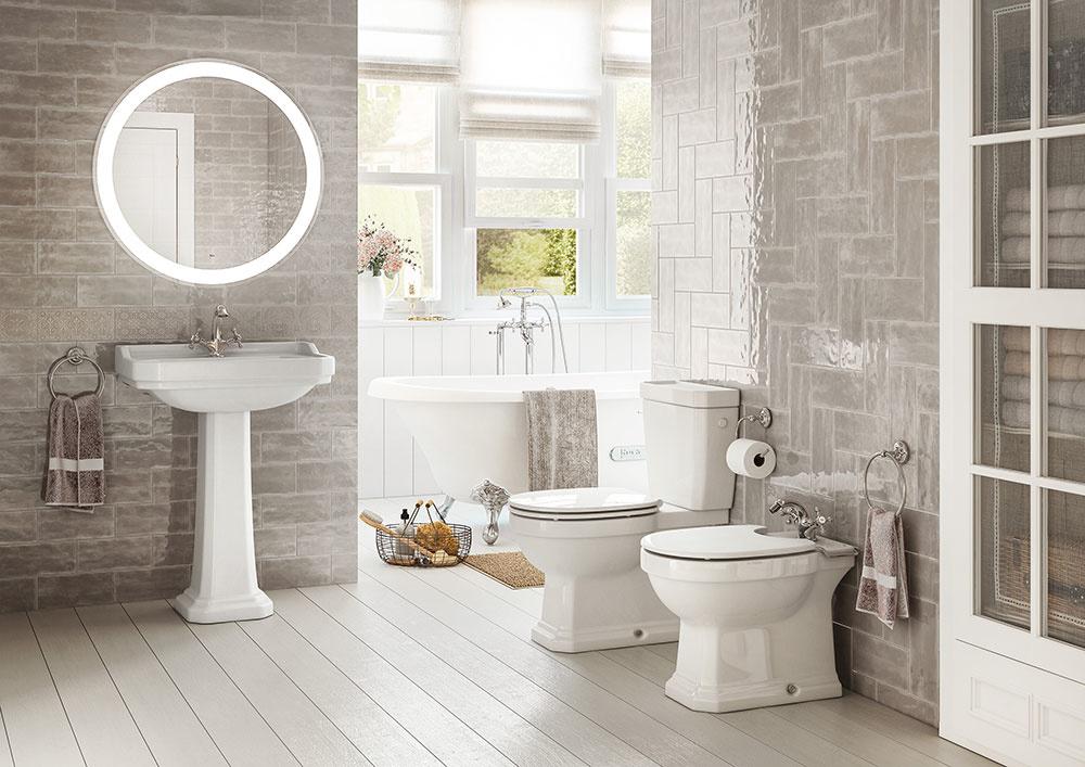 Retro kúpeľne – nadčasový dizajn, tradície a noblesa