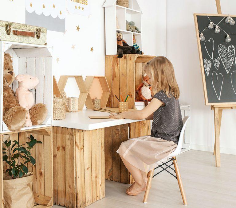 Detská izba v štýle lagom