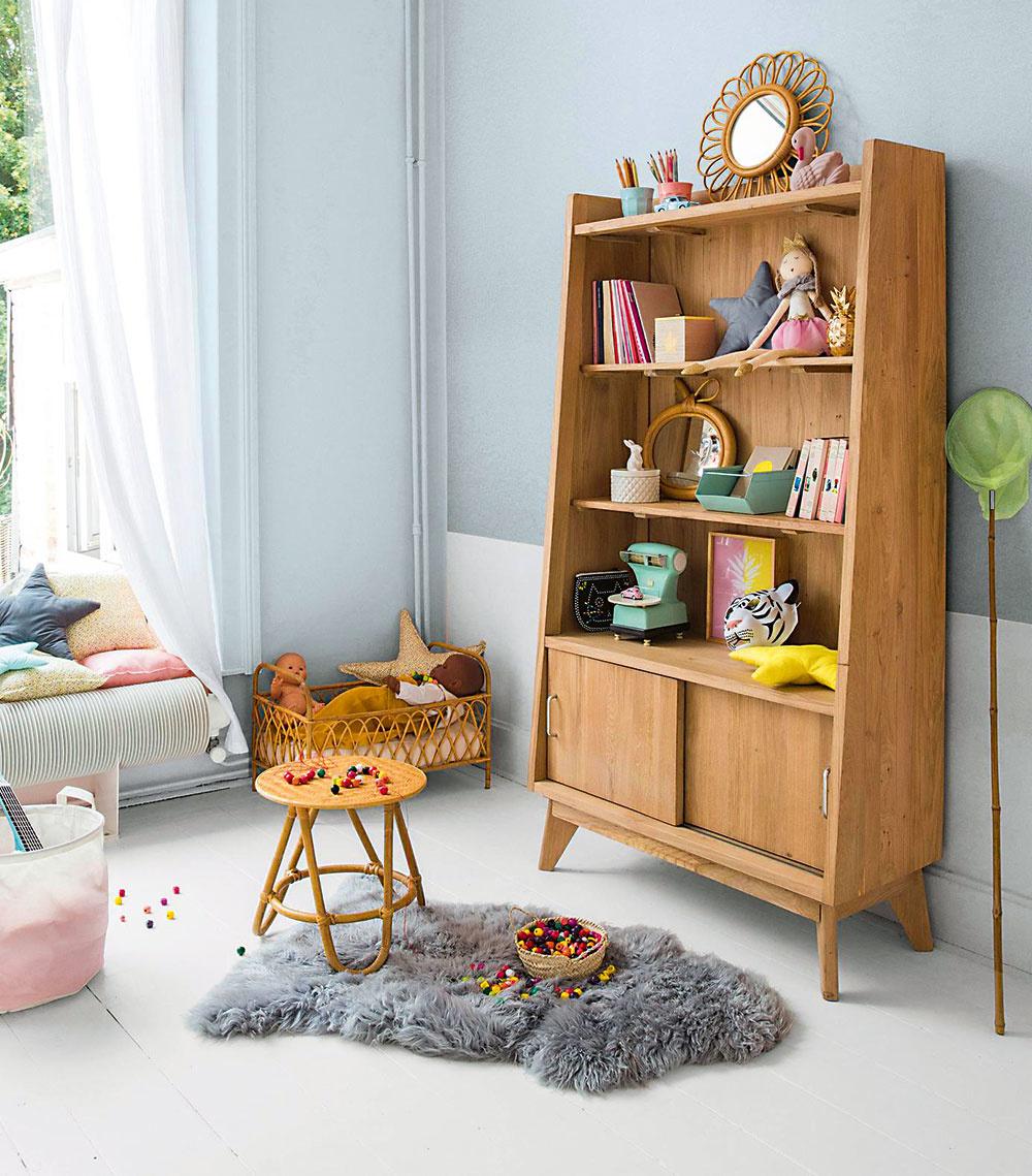 Nielen nábytok na mieru. Jeden samostatný kus nábytku rozbije jednoliate línie vstavaných prvkov, vytvorí hravý aútulný priestor. Môže to byť skriňa, knižnica či poličková zostava. Ideálne miesto na najobľúbenejšie hračky.