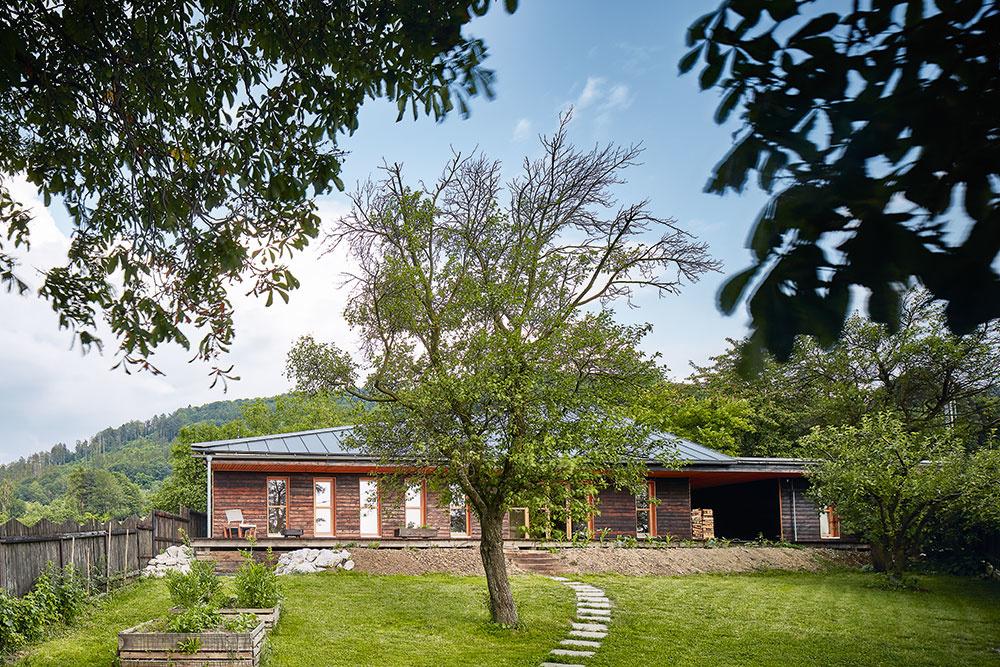 Drevostavba bez zbytočných príkras vyšla majiteľov na 140 000 €