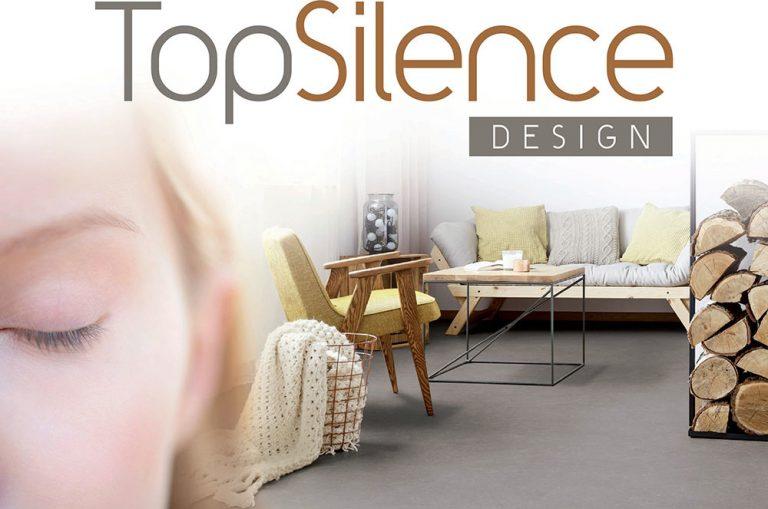 Nová generácia tichých podláh Gerflor TopSilence Design oslní akustikou a dekormi