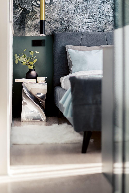 Majiteľkin vkus je vycibrený. Každý detail je do bodky premyslený akaždý kus nábytku idoplnok má svoje presné miesto.