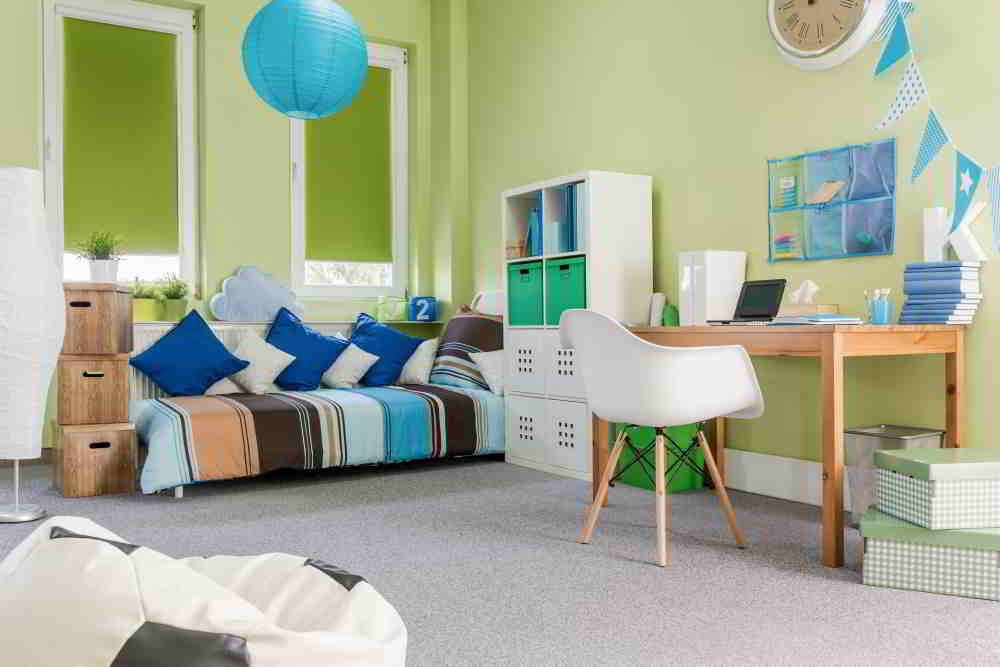 Zariaďovanie detskej izby v novom dome