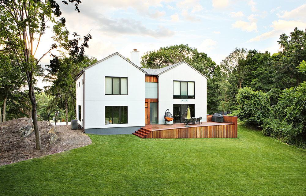 Ideálna strecha moderného rodinného domu