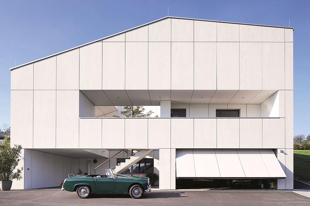 Vyberte si vkusnú fasádu: Omietky a obklady na moderné rodinné domy