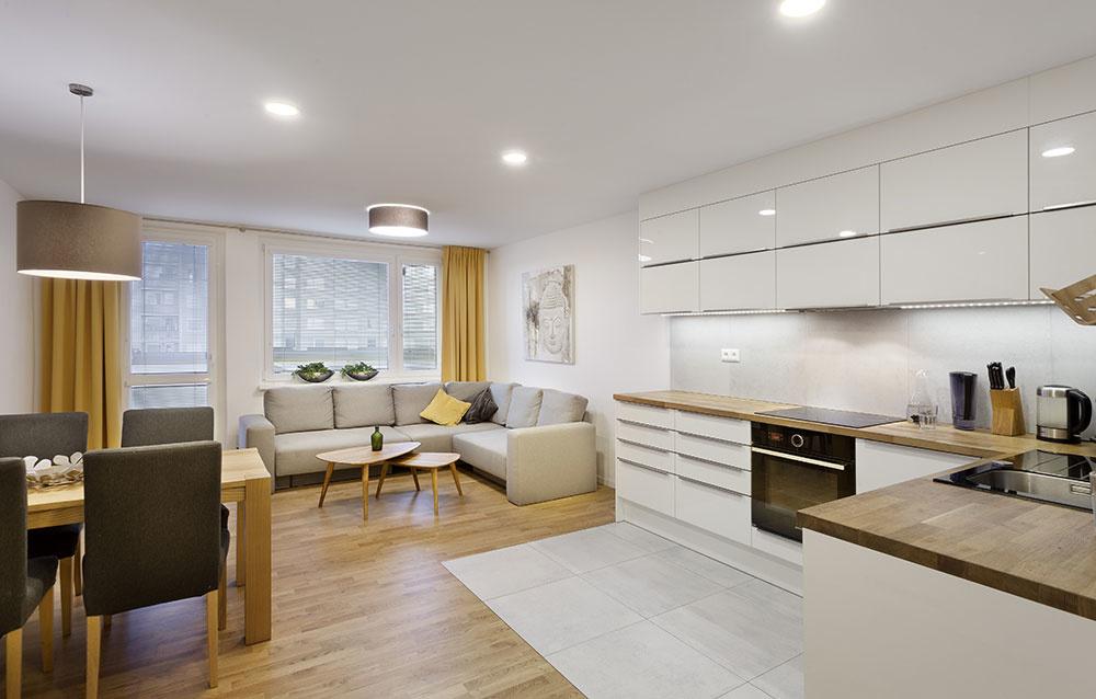 Premena panelákového bytu na priestranný a svetlý priestor za 35 000 €