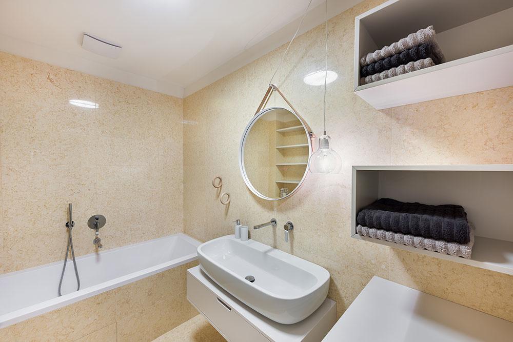 kúpeľňa v byte