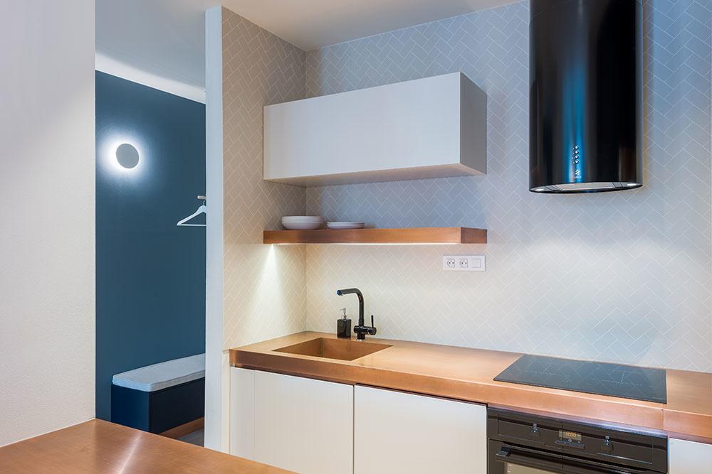 medená kuchyňa