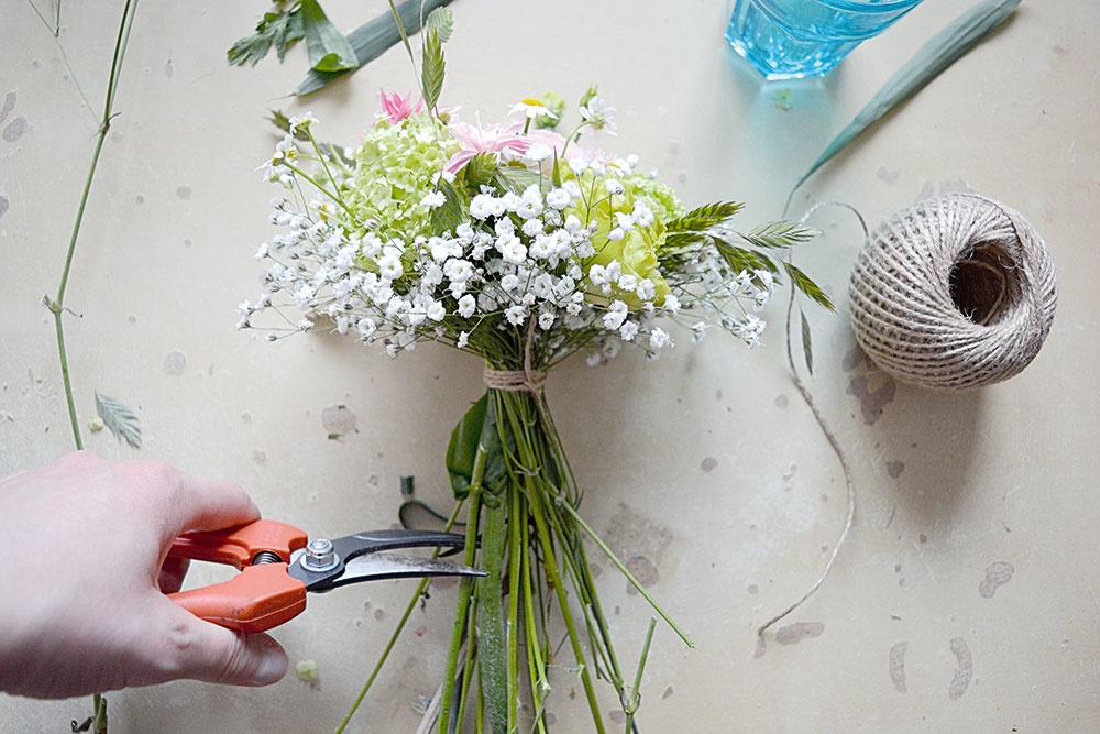 strihanie kvetov