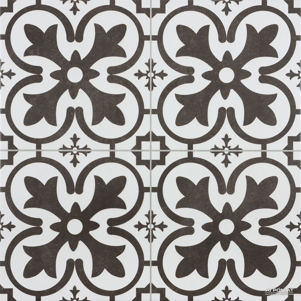 Keramická dlažba Geotiles Boulevard negro od značky Geotiles, 45 × 45 cm, 7 kusov v balení, 20,29 €/m2, www.siko.sk