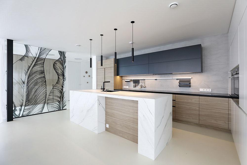 kuchyňa v dome