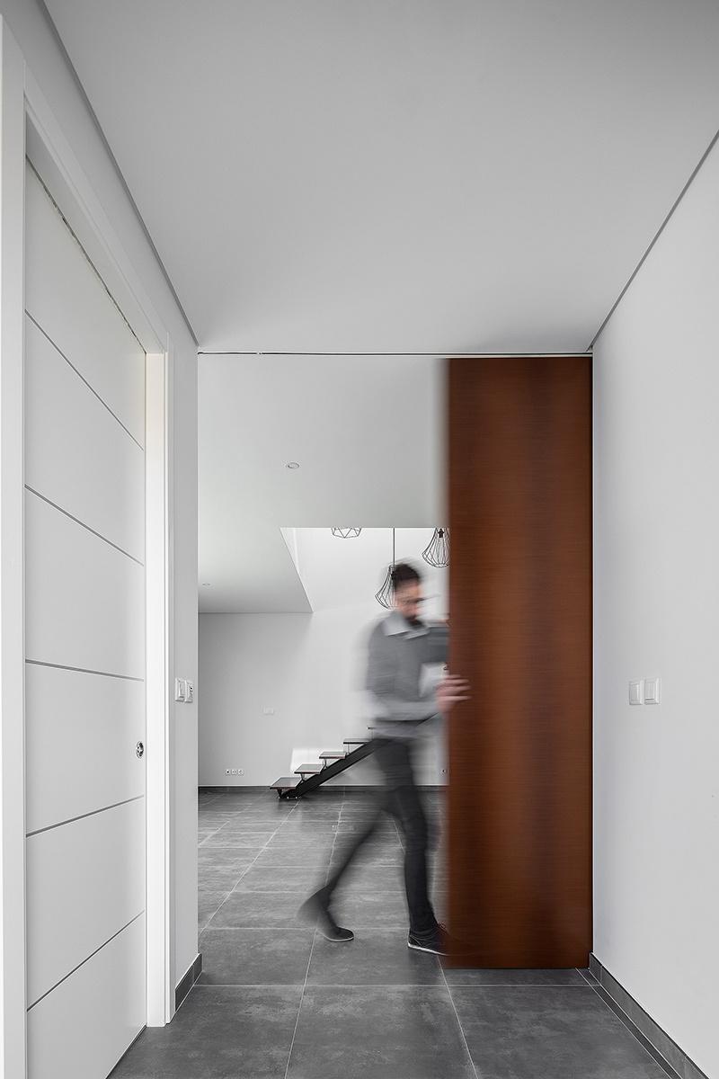 Posuvné dvere v rodinnom dome