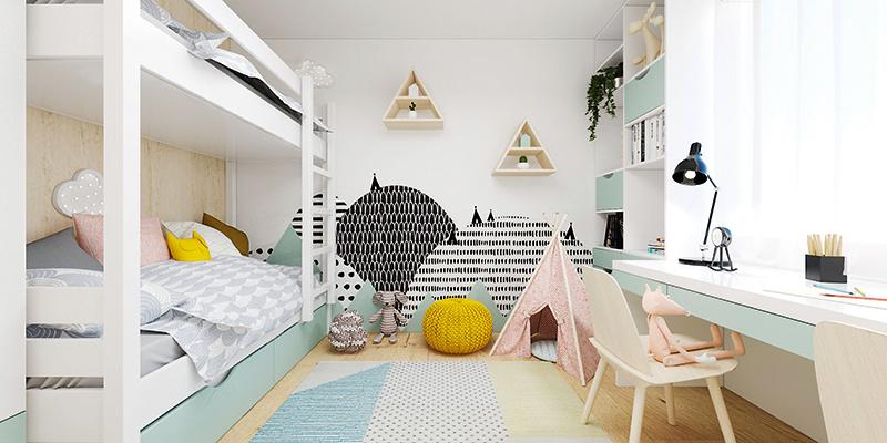 Návrh detskej izby