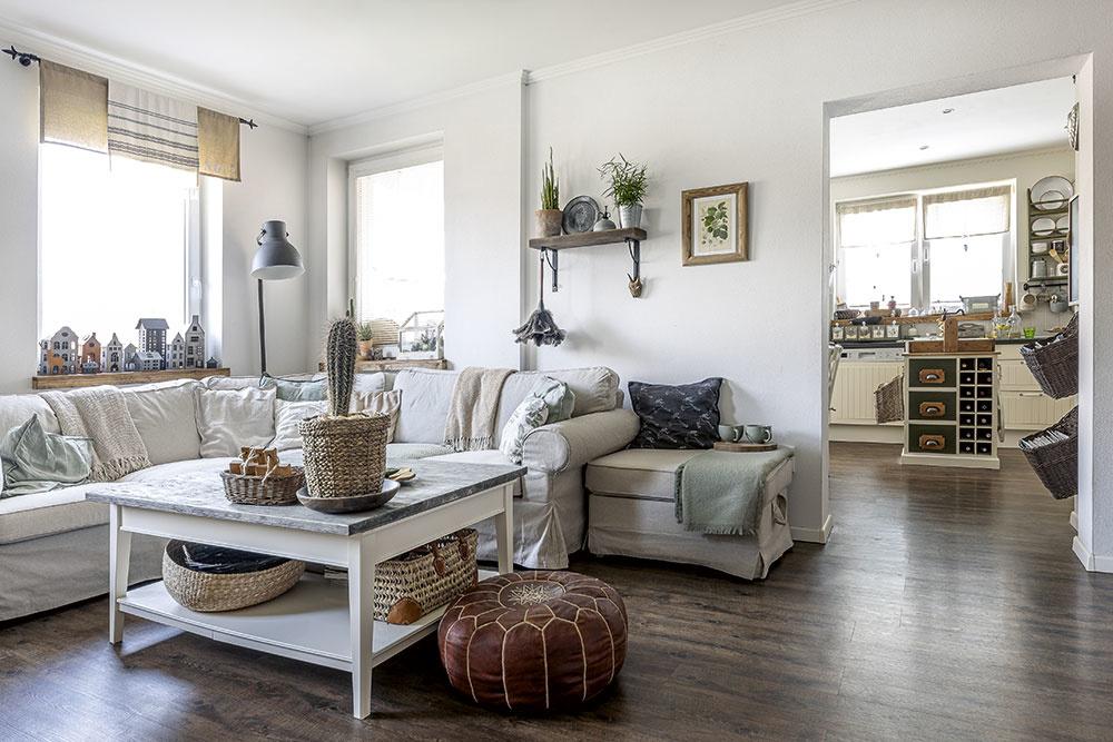 vidiecka obývačka