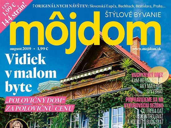 Nové vydanie časopisu Môj dom už v predaji