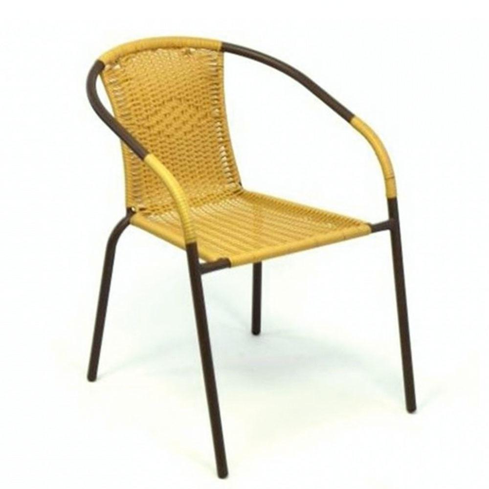 Stohovateľný nábytok oceníte, ak ku vám chodieva viac hostí. Stoličky zkovu aumelého ratanu sú ľahučké anevyžadujú žiadnu údržbu. Sopierkami aširokou sedacou plochou budú navyše ipohodlné. Za 22,99 €/kus predáva www.dilego.sk.