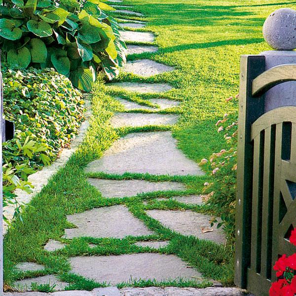 Prístupový chodník na záhradu či chalupu