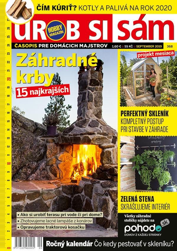 Septembrové vydanie Urob si sám je v stánkoch! Zmajstrujte si perfektný skleník!