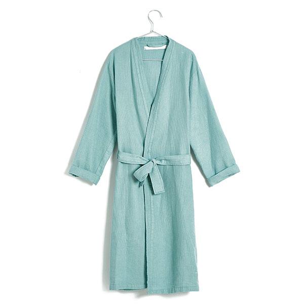 Župan zpiketovej bavlny vmentolovej farbe, veľkosť UNI, 59,99 €, www.zarahome.com/sk