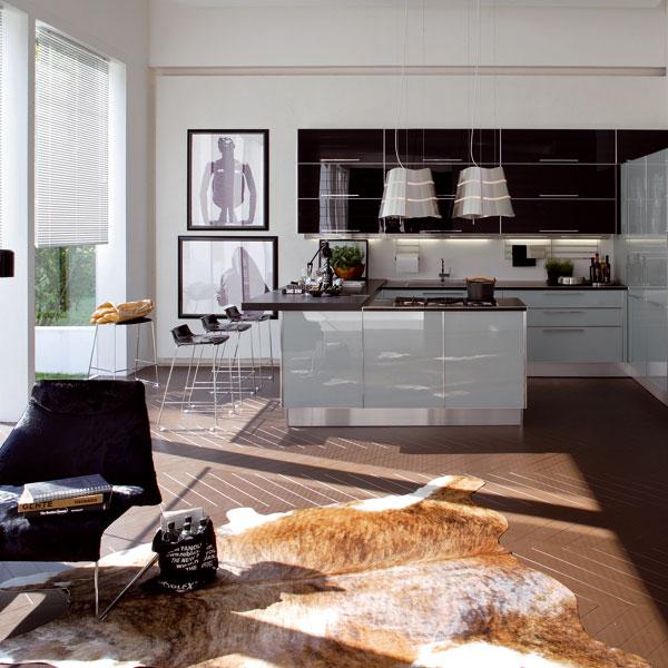 Spojenie kuchyne aobývacej izby (1.)