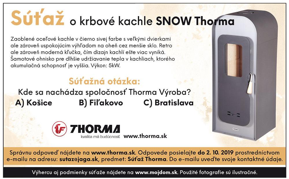 Výsledky súťaže o krbové kachle SNOW Thorma