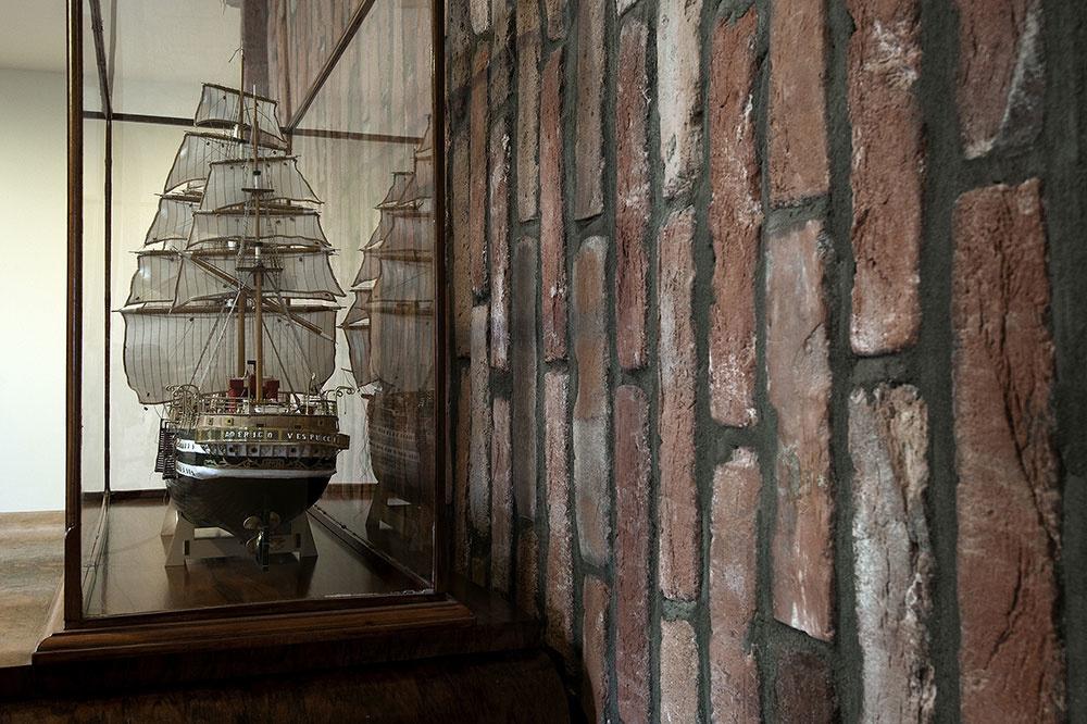 rodinná galéria modelov historických lodí