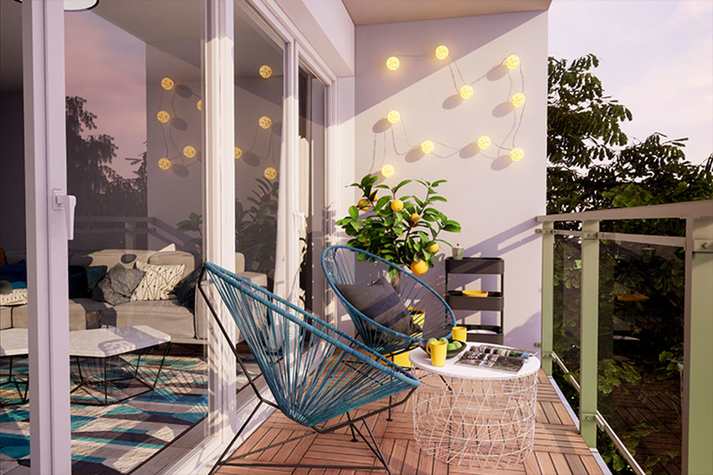 Nechajte rozžiariť svoj balkón s drevenou podlahou