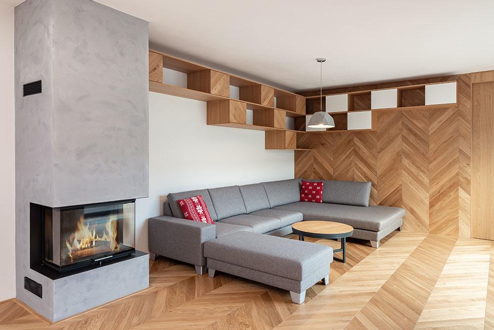 Z obývačky urobili dve miestnosti a priestor v dome je teraz oveľa praktickejší