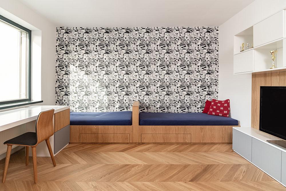 detská izba pre dve deti