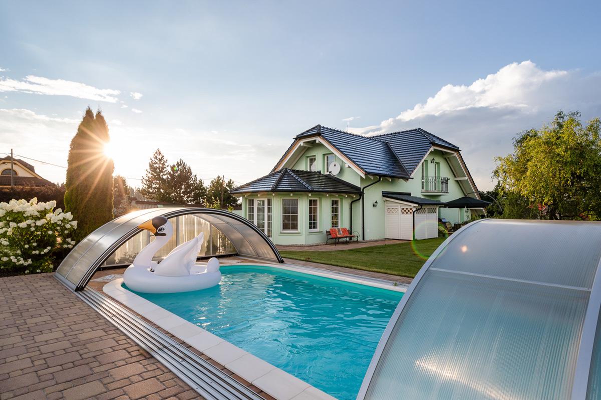 Rodinný dom so záhradným bazénom na Orave