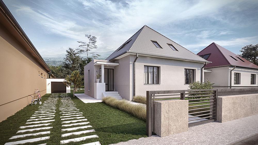 dom po rekonštrukcii