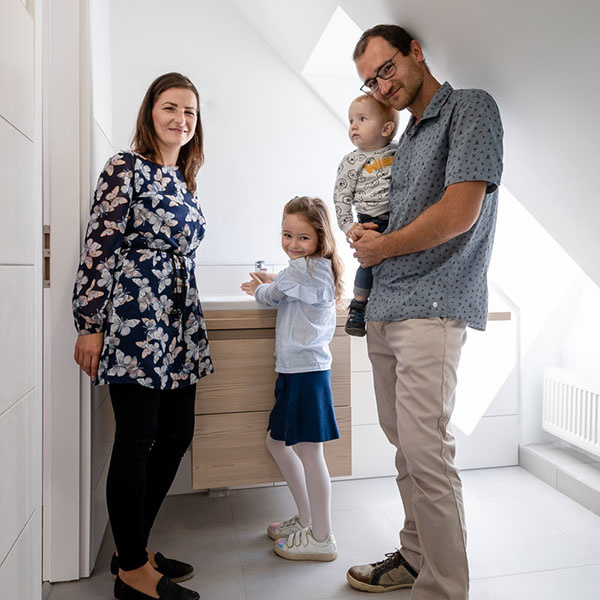 Dom po starých rodičoch premenili na moderné bývanie