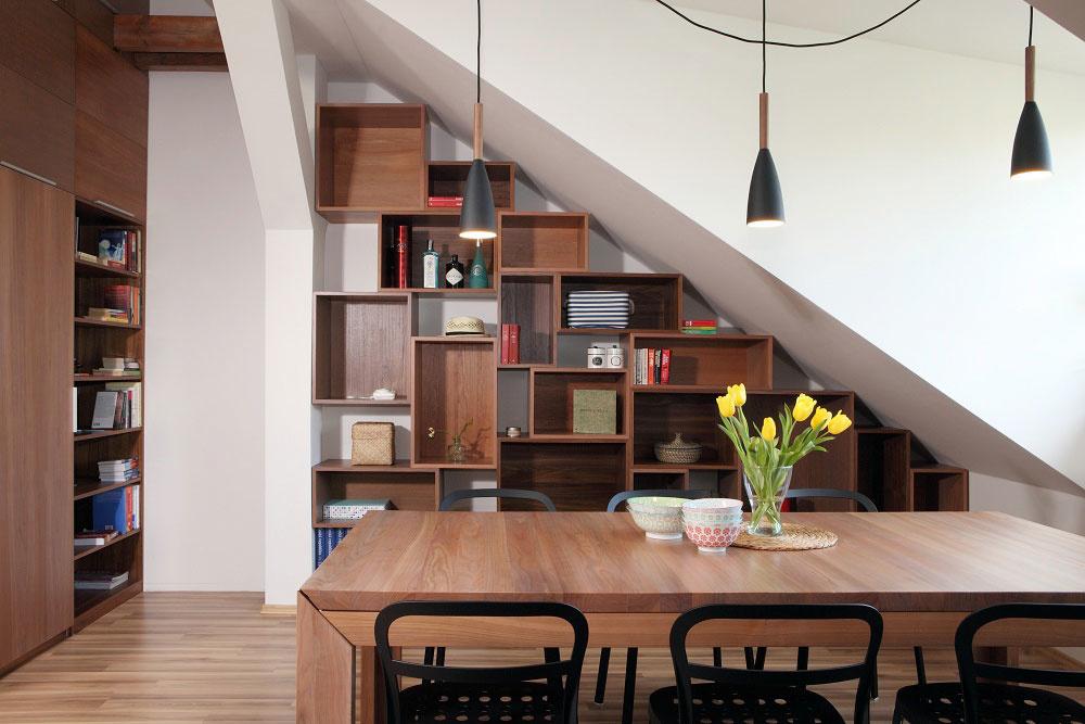 Úložné priestory od chodby až do kuchyne