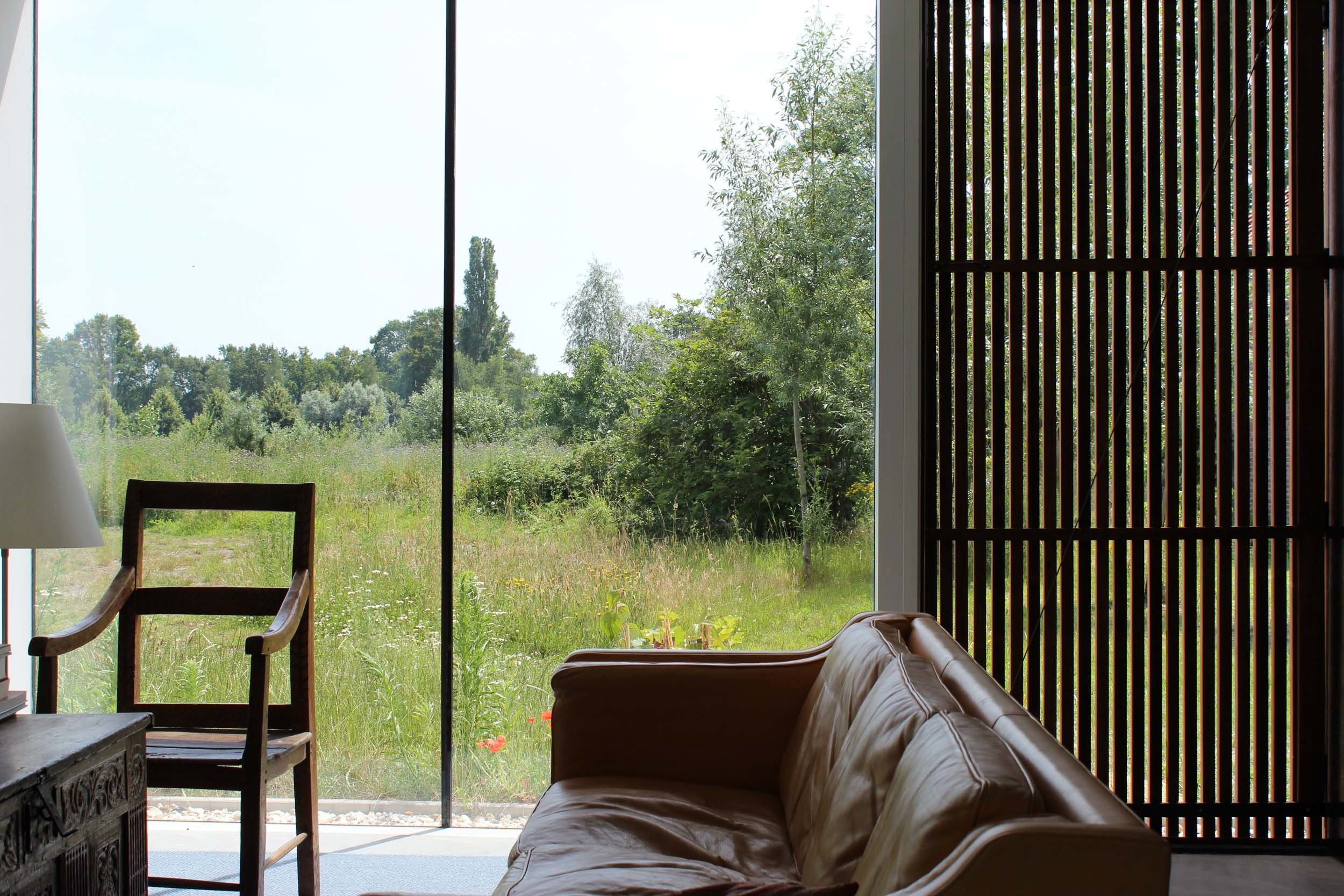 Zrekonštruovaná farma premenená na moderné bývanie