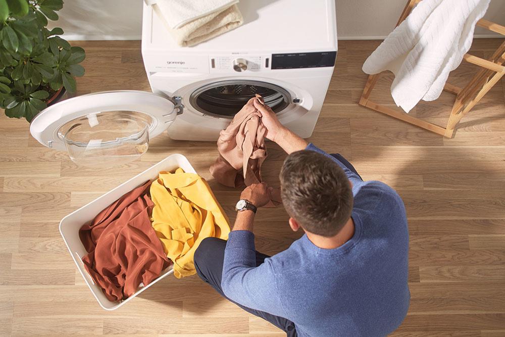 Šetrné pranie s radou WaveActive