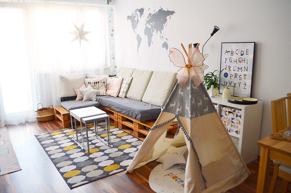 detská izba ako obývačka