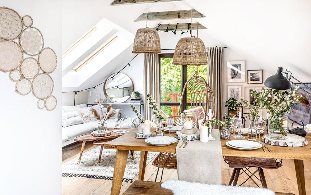 Inšpiratívny interiér, z ktorého vyžaruje teplo domova