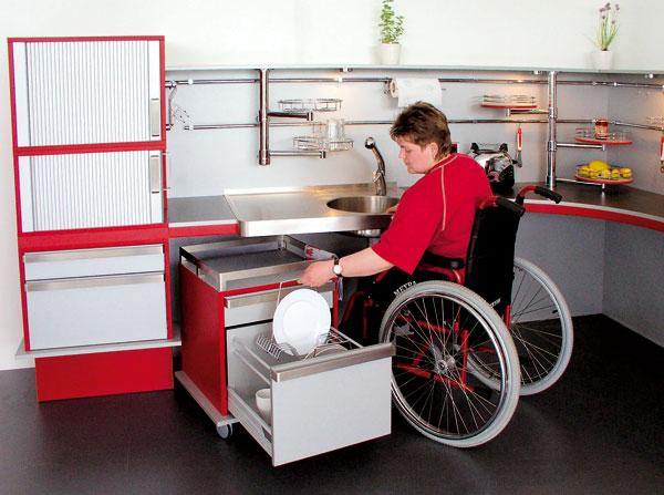 Kuchyňa bez bariér