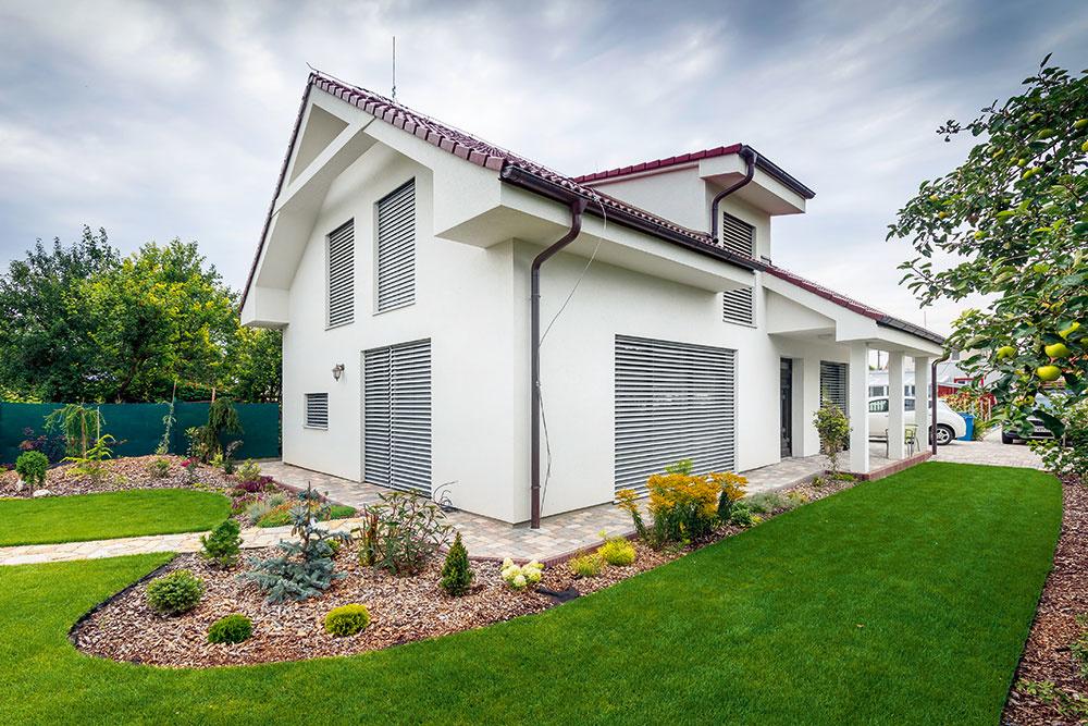 Pasívny dom v Rusovciach postavený vlastnými rukami