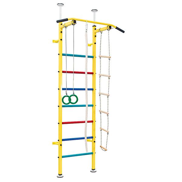 Rebrina Benchmark Junior, kovový rám, nosnosť 120 kg, šírka 66 cm, výška stropu pre inštaláciu 2,40 – 2,78 m, 266,30 €, www.insportline.sk