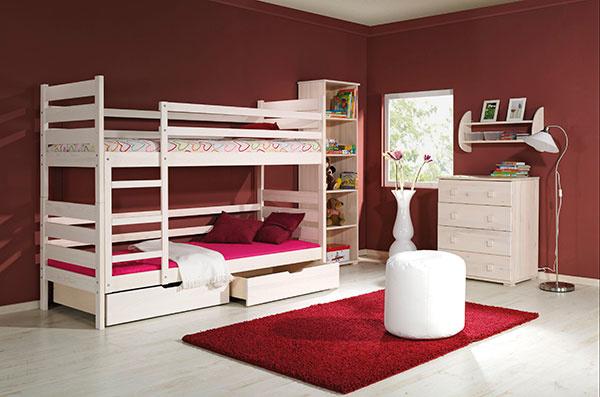 Kupujete poschodovú posteľ? Tu je niekoľko rád a tipov