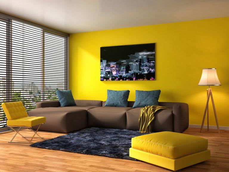 Okrová farba vnesie do vášho bytu teplo: Ako a kde ju použiť?