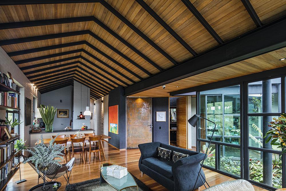 obývacia izba Ortega Mora House