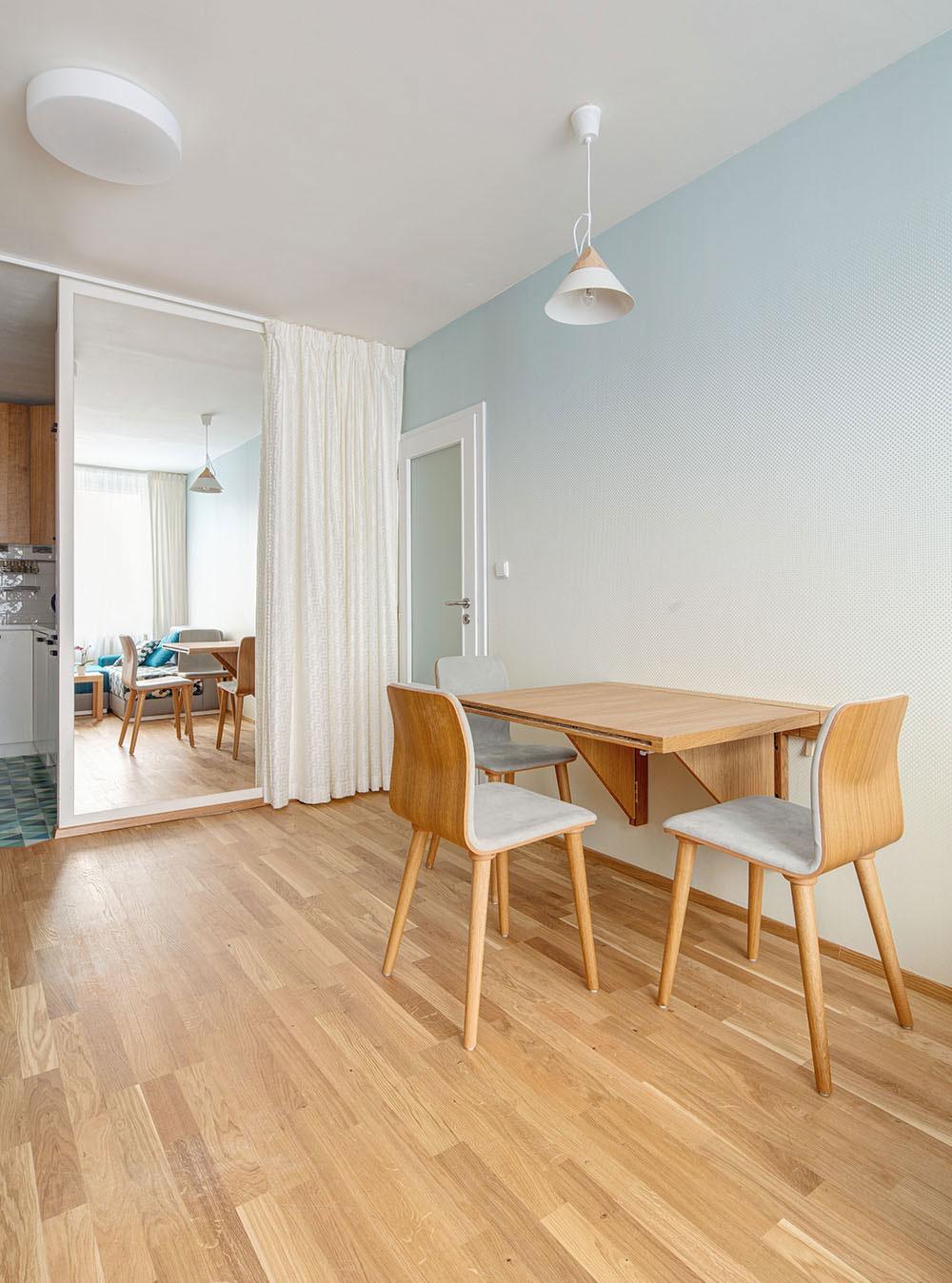 Sklopný stôl a nábytok na mieru