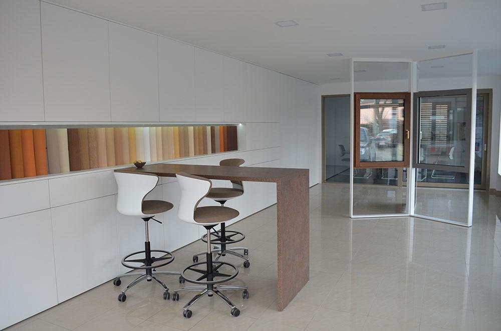 showroom v novom dizajne