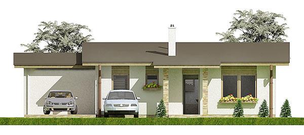 Projekt rodinného domu Javijani 111
