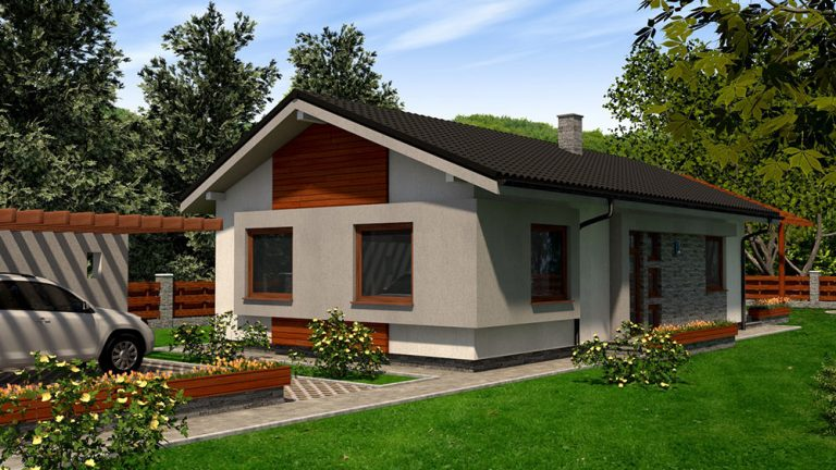 Jednopodlažný rodinný dom RM 94