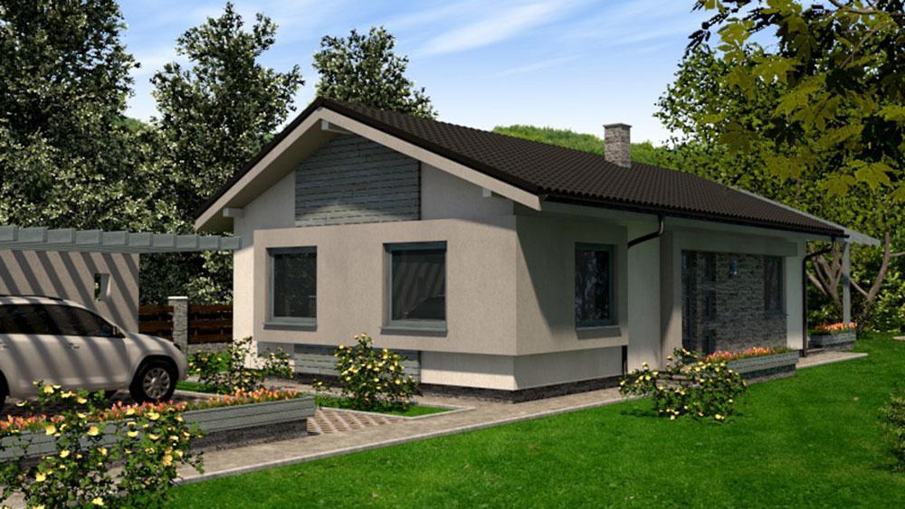 projekt rodinného domu RM 94